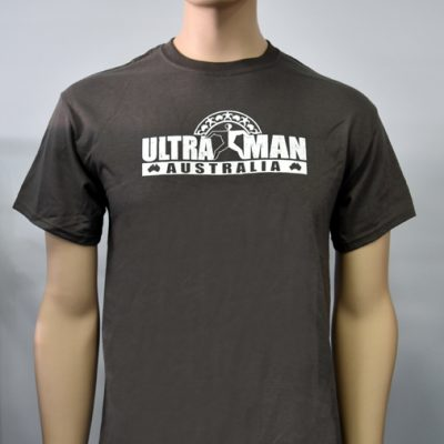 short sleeved T Grey Front